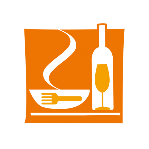 CRUM Restauración – logo y gráfica